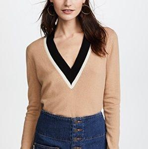 New Veronica Beard Barret Sweater Beige